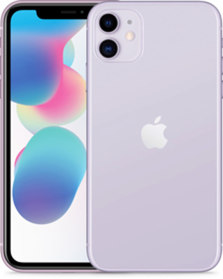 Apple iPhone 11 128GB violett Produktbild