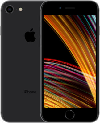 Apple iPhone SE 2 Dual SIM 64GB schwarz Produktbild