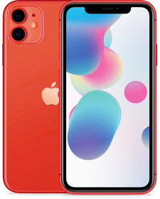 Apple iPhone 11 64GB rot