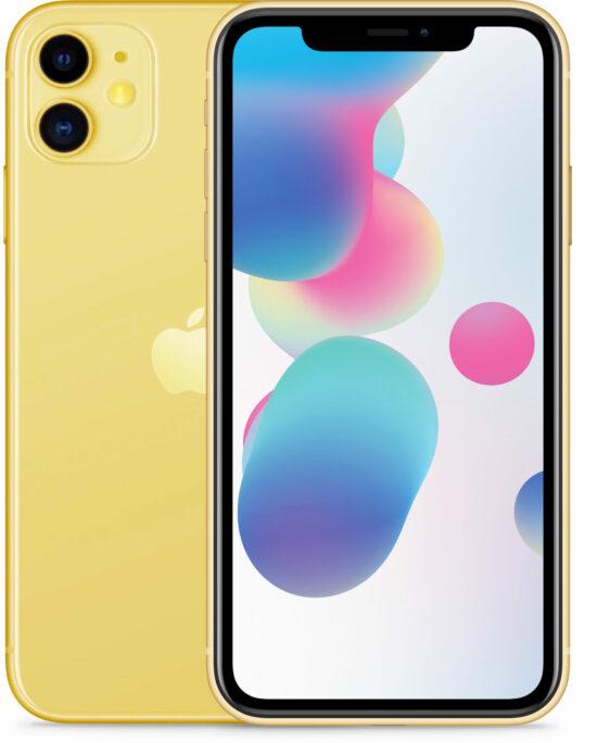 Apple iPhone 11 128GB gelb Produktbild