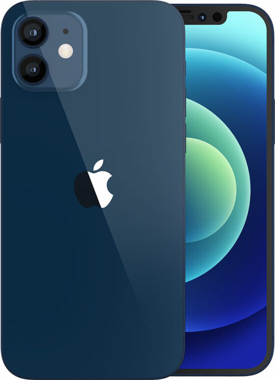 Apple iPhone 12 mini 128GB blau Produktbild