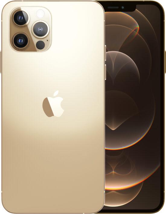 Apple iPhone 12 Pro 128GB gold Produktbild