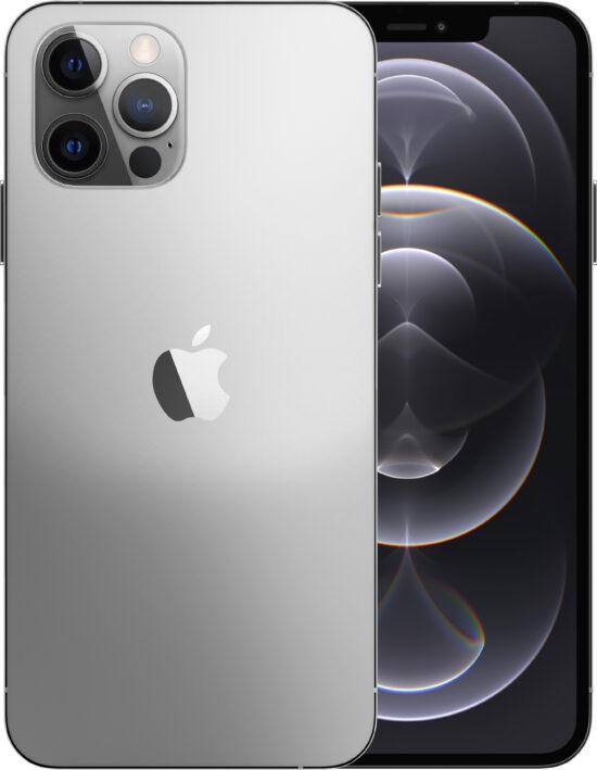 Apple iPhone 12 Pro Max 128GB silber Produktbild