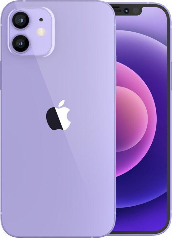 Apple iPhone 12 mini 128GB violett Produktbild