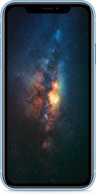 Apple iPhone XR 256GB blau Produktbild