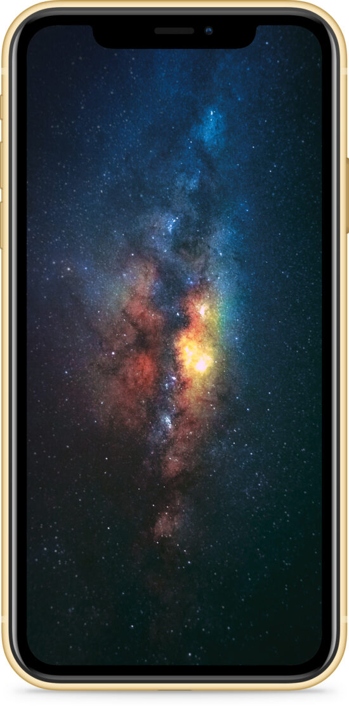 Apple iPhone XR 64GB gelb Produktbild