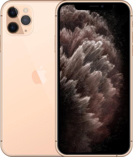Apple iPhone 11 Pro Max 256GB gold Produktbild