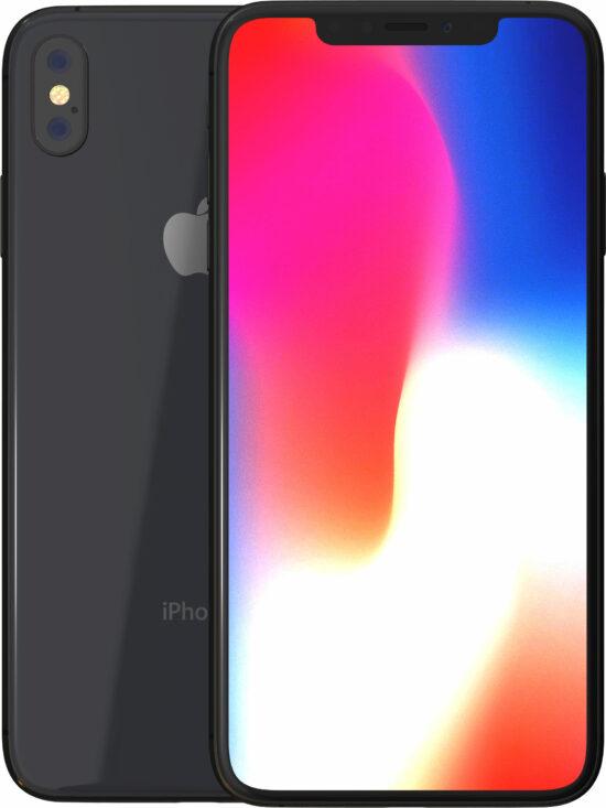 Apple iPhone X 64GB space grau Produktbild